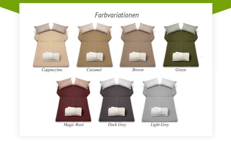 Spacebed® farbvarianten