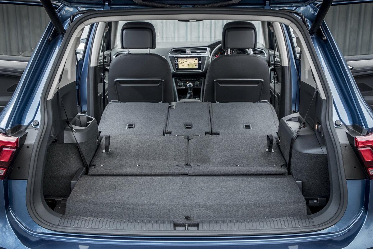 Schlafen im VW Tiguan Allspace